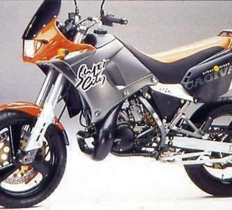 Manual Moto Cagiva Supercity 125 1991 Reparacion y Servicio