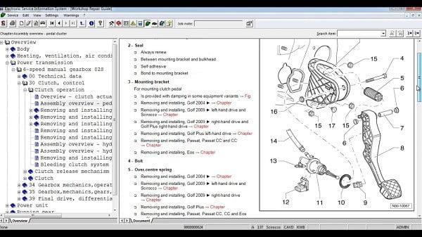 Manual Audi Q7 2011 Reparación y Servicio de Frenos, Ajustadores, Balatas, Boosters, Bujes de Caliper, Discos de Frenos, manguera de frenos, resortes de balatas