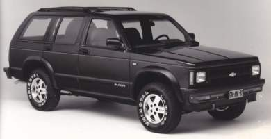 Manual de Usuario CHEVROLET Blazer 1993 en PDF Gratis
