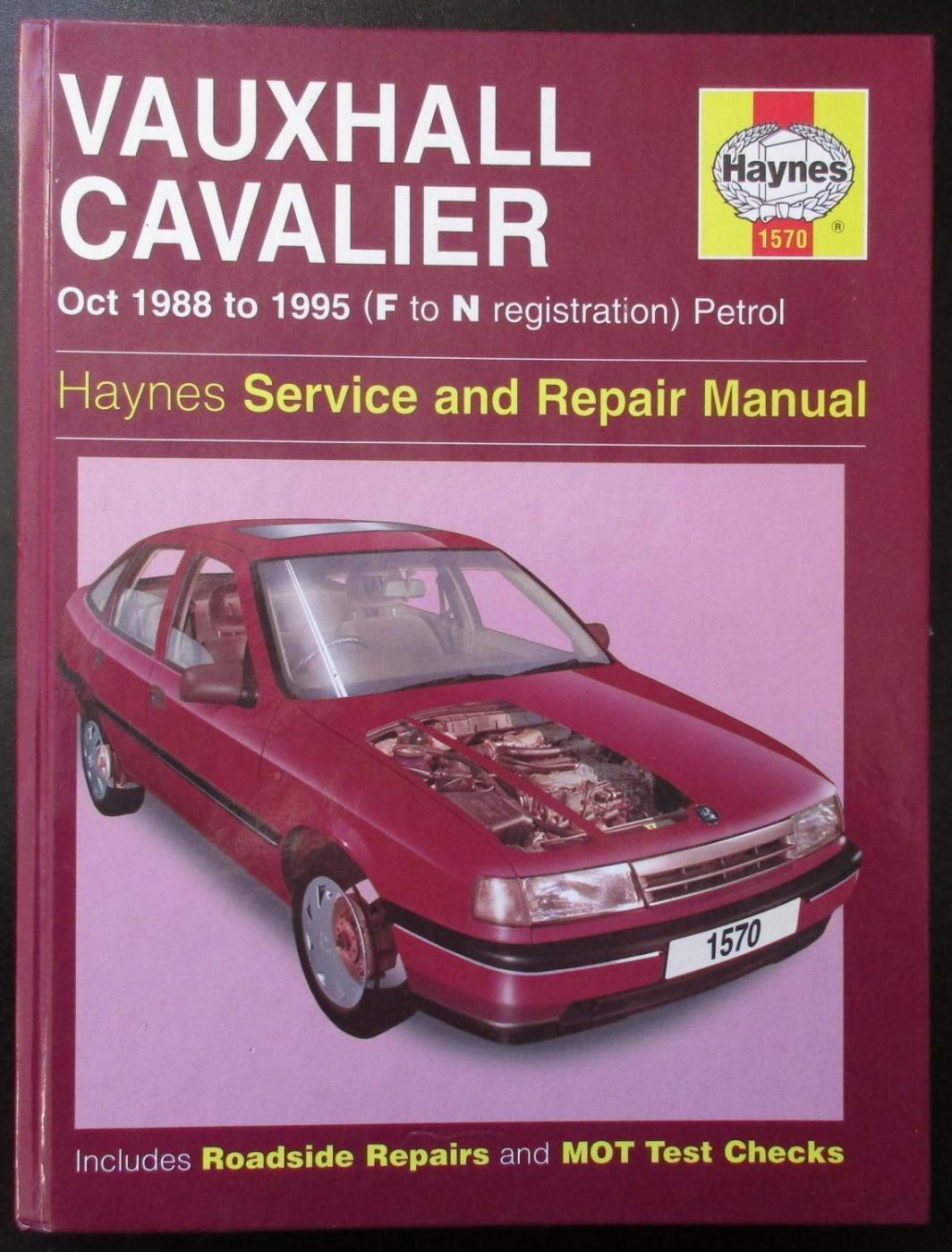 Descargar Manual Haynes CHEVROLET CAVALIER 1988-1995 Reparación