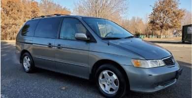 Manual Honda Odyssey 2001 de Usuario