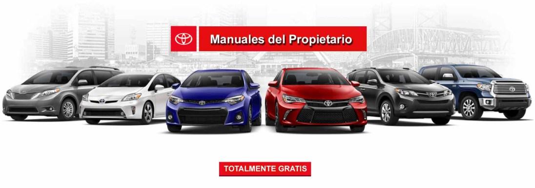 Descarga Manuales de Usuario de Autos Toyota