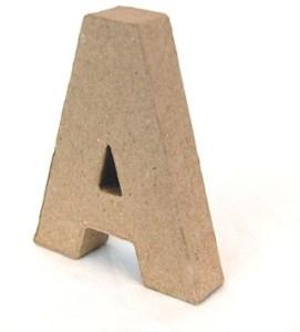 Letras Mayúsculas 20cm