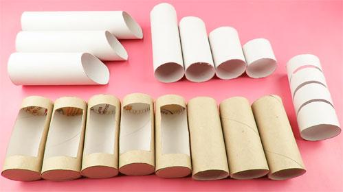 Rollos de papel higienico para manualidades