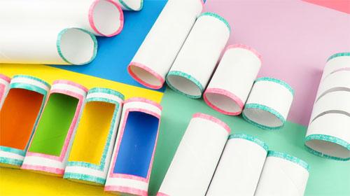 tubos de papel higienico manualidades