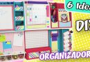 6 DIY ORGANIZADORES DE PARED