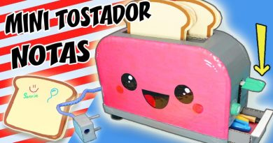 Mini tostadora de notas kawaii