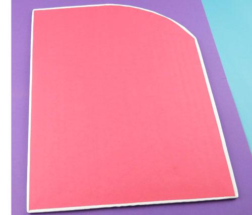 organizador de escritorio rosa