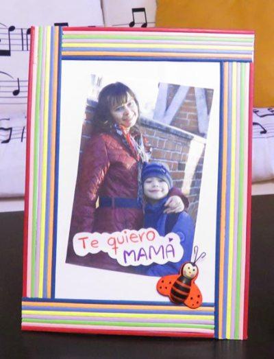 Manualidades con niños fáciles ida de la madre