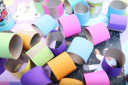 manualidades de reciclaje con rollos