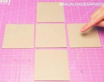como hacer una carta en una caja