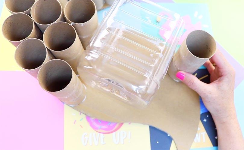 manualidades con botellas plasticas