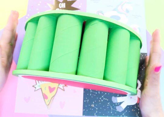 manualidades con rollos de papel cocina