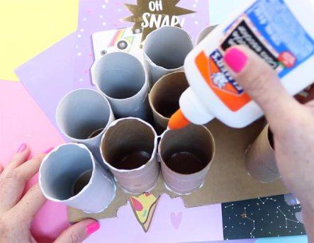 manualidades con rollos de papel higiénico para adultos