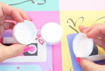 manualidades faciles con tapones de plastico