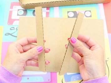 recortar carton en manualidades