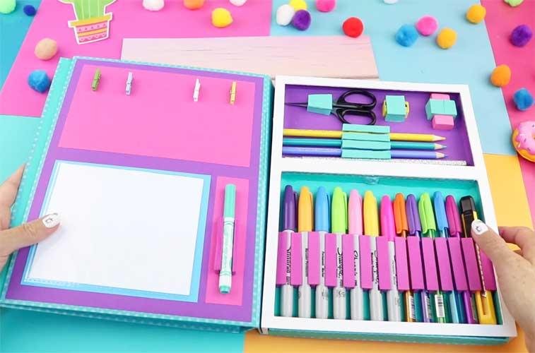 como hacer una libreta organizador