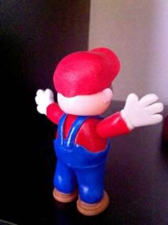 Mario bros porcelana fria