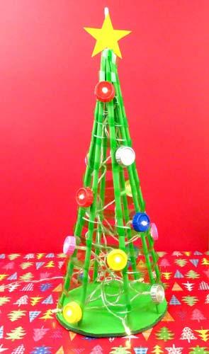 como hacer un árbol de navidad casero