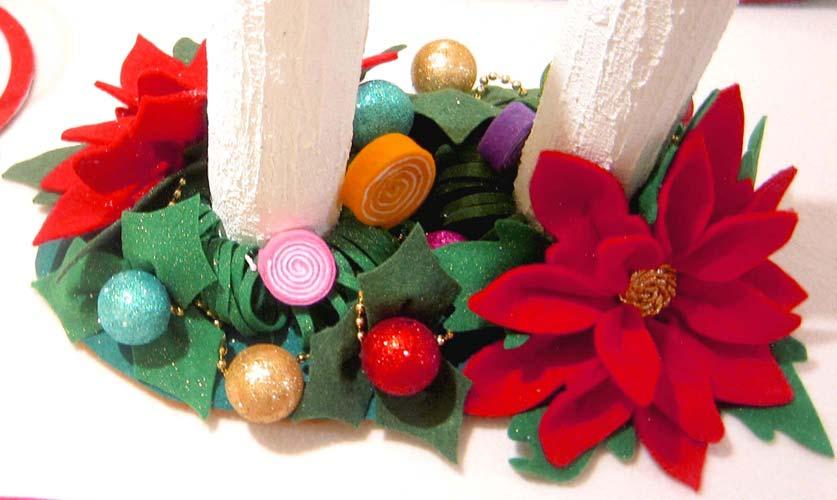 manualidades para navidad con fieltro