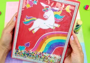 Manualidades de unicornio Transparentes