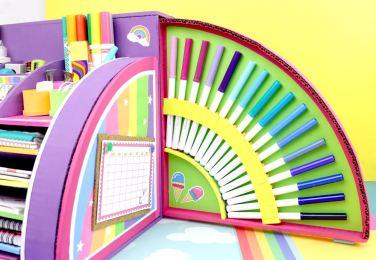 Organizador de utiles escolares