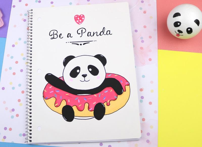 manualidades oso panda
