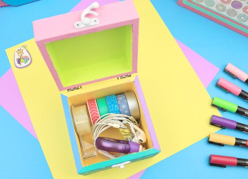caja decorada para tus cosas