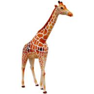 Papercraft imprimible y armable de una Jirafa / Giraffe. Manualidades a Raudales.