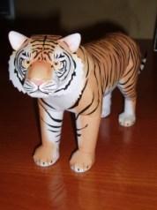Papercraft imprimible y armable de un Tigre de Bengla / Bengal Tiger. Manualidades a Raudales.