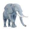 Papercraft de un Elefante Africano. Manualidades a Raudales.
