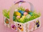 Pascua / Easter una Cesta de huevos. Manualidades a Raudales.