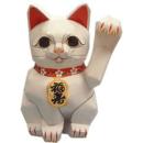 Papercraft recortable y armable del Gato afortunado de la gente. Manualidades a Raudales.