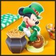 St Patricks - Mickey con caldero de oro. Manualidades a Raudales.
