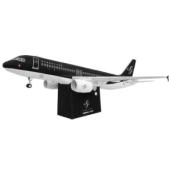 Papercraft imprimible y armable del Airbus A320 de Starflyer. Manualidades a Raudales.
