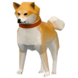 Papercraft de un Perro Shiba. Manualidades a Raudales.