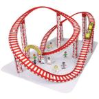 Papercraft imprimible y armable de una Montaña Rusa / Roller Coaster. Manualidades a Raudales.