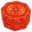 Papercraft recortable y armable de una caja china. Manualidades a Raudales.