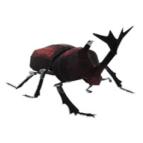 Papercraft imprimible y armable del Escarabajo Ciervo Volante / Japanese Beetle. Manualidades a Raudales.