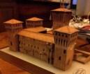 Papercraft imprimible y armable del Castello Delle Rocche. Manualidades a Raudales.