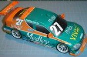 Papercraft del coche Chevrolet Astra 2007. Manualidades a Raudales.