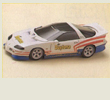 Papercraft imprimible y armable del Chevrolet Camaro Sport Coupe. Manualidades a Raudales.