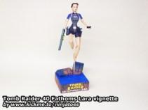 Papercraft de Tom Raider - Lara Croft corriendo. Manualidades a Raudales.
