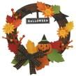 Papercraft de una corona para Halloween. Manualidades a Raudales.