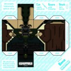 Papercraft de Bane. Manualidades a Raudales.