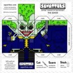 Papercraft de The Joker. Manualidades a Raudales.