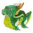Papercraft de un dragón. Manualidades a Raudales.