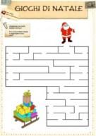 Laberintos navideños.