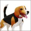 Papercraft del Perro Beagle. Manualidades a Raudales.
