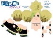 Cubeecraft Divas Avril Lavigne. Manualidades a Raudales.